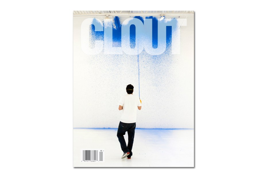 Image of CLOUT Magazine Issue 12 featuring KR