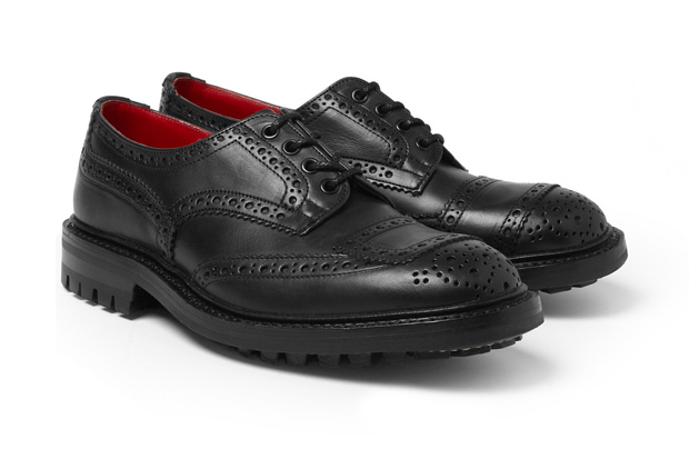 Image of COMME des GARCONS JUNYA WATANABE MAN x Tricker's Leather Brogues