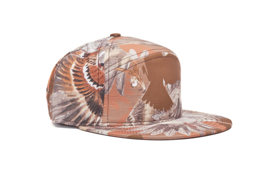 Image of Common x Quintin 2012 Fall/Winter Sparrow Print Hubert Cap 