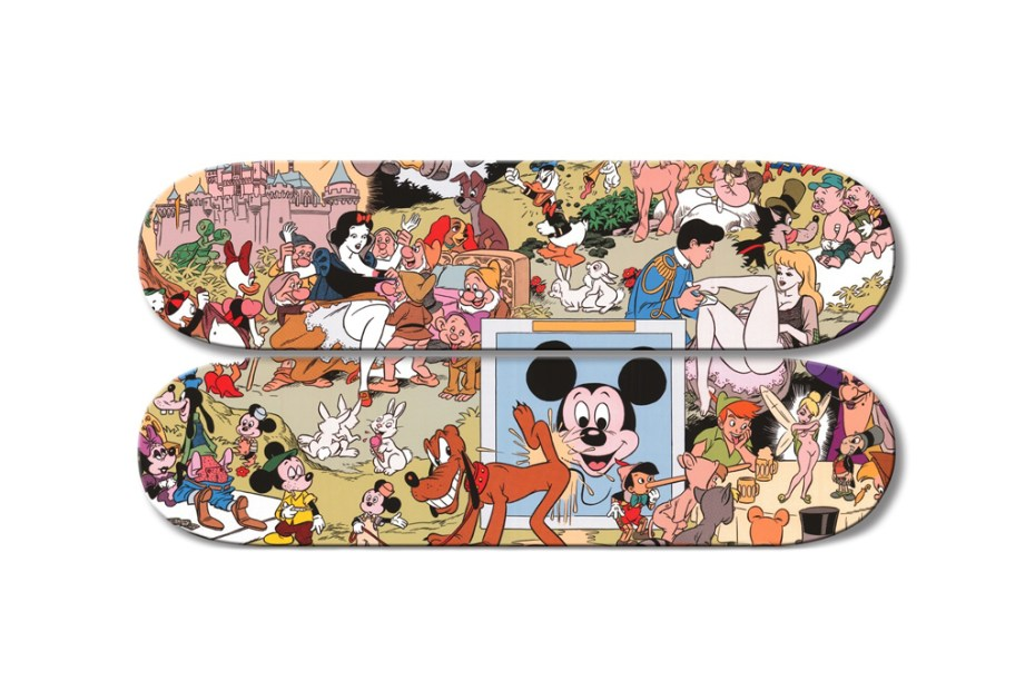 Image of Disney Orgy Skate Decks by Paul Krassner &amp; Wally Wood