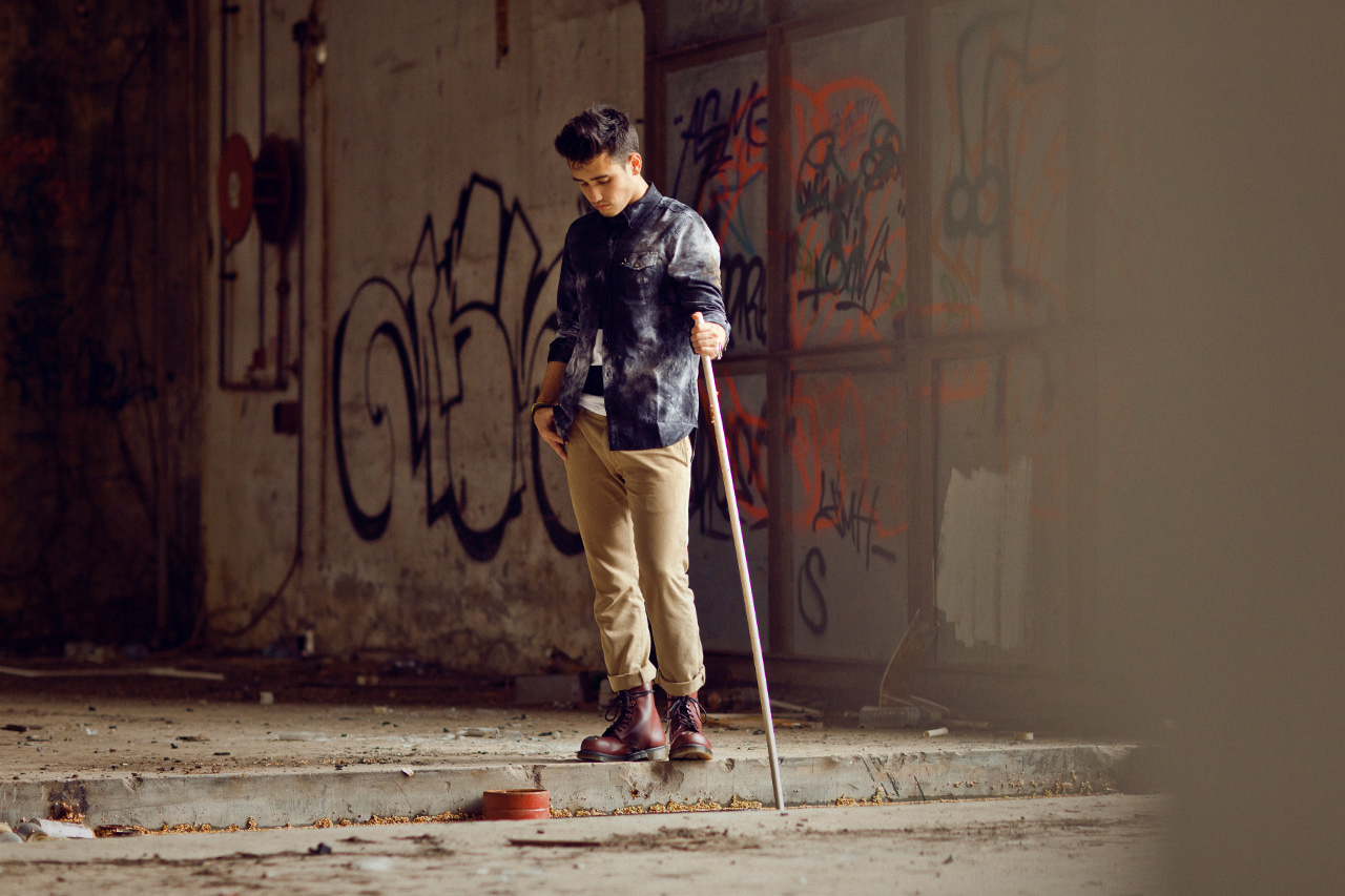 "Image of Dr. Martens 2012 Fall/Winter ""INDIVIDUAL STYLE. UNITED SPIRIT."" Editorial"