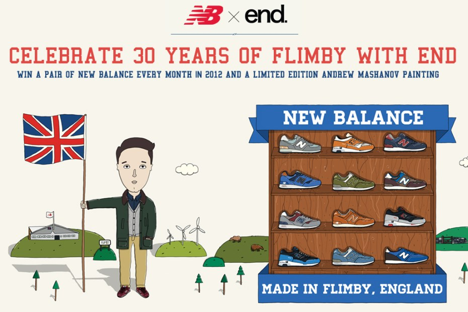 Image of Winner Announcement! End Clothing Giveaway -- Win Four Pairs of New Balance Every Month Until the End of 2012!