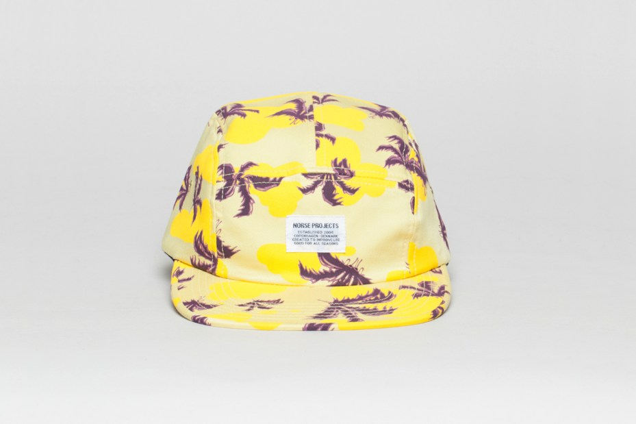 Image of Erik Parker for Norse Projects 5-Panel Cap