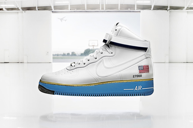Image of Nike Sportswear&#039;s Air Force 1 Homage to the US President&#039;s Private Jet