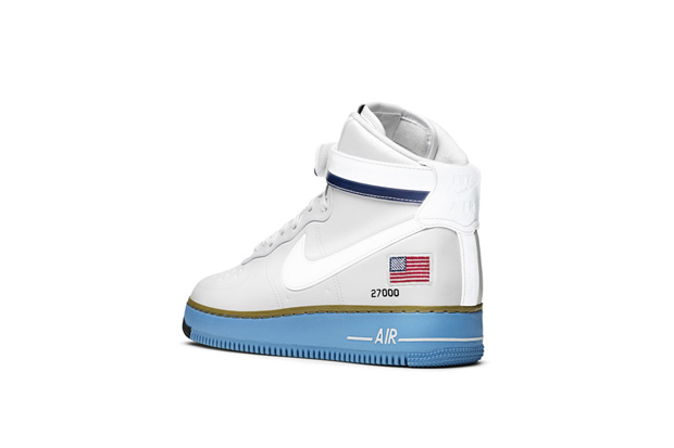 Image of Nike Sportswear's Air Force 1 Homage to the US President's Private Jet