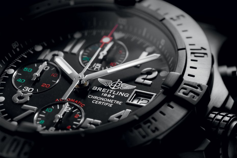 "Image of Francisco Toledo x Breitling Avenger Blacksteel Chrono ""Águila Real Mexicana"""