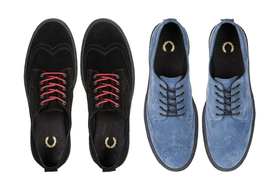 Image of Fred Perry Davies Suede Creeper