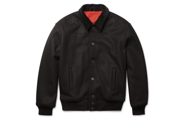 Image of Givenchy Wool-Blend Bomber Jacket