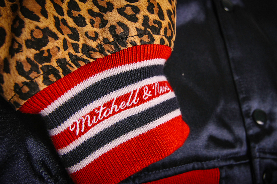 Image of Gourmet x Mitchell & Ness Vintage Satin Jacket