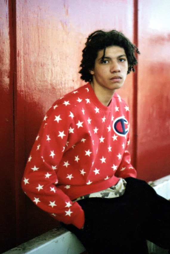Image of Supreme Previews New Collaborations in GRIND 2012 Fall/Winter Editorial