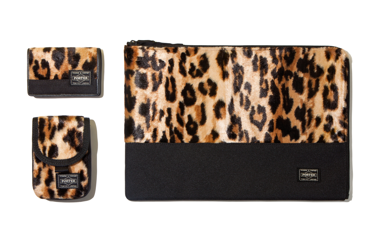 Image of Head Porter 2012 Fall/Winter Leopard Mombasa Accessories Collection