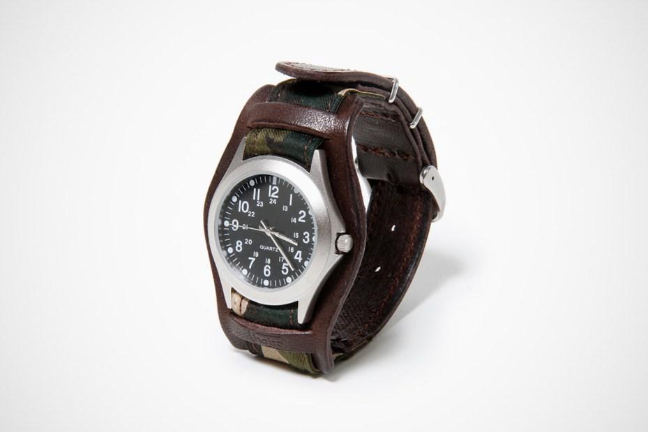 Image of hobo YARDWORK Camo Quartz Watch