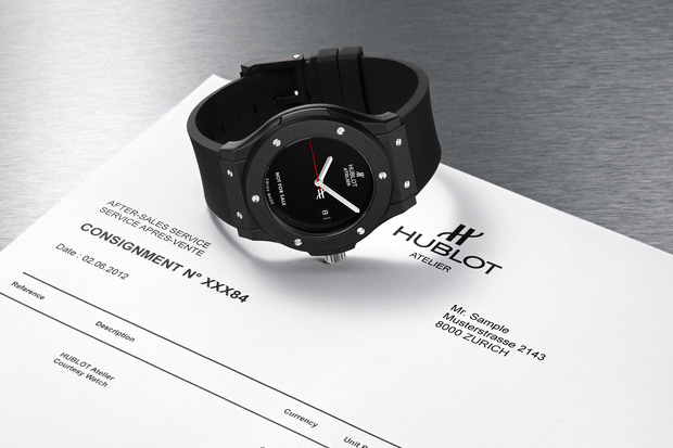 "Image of The Hublot ""Loaner"" Atelier Watch"