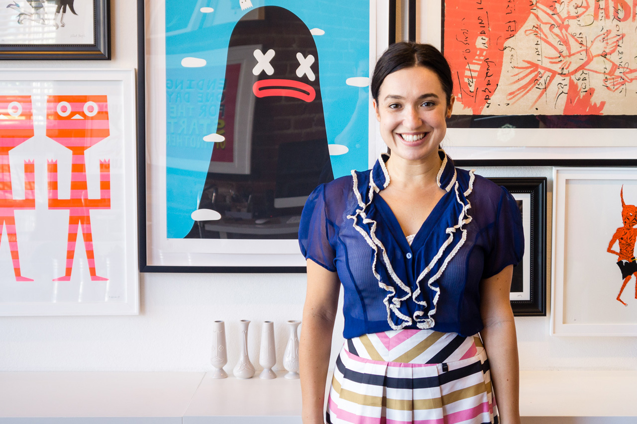 Image of Hypebeast Spaces: The Offices of Sonja Teri's Poster Child Prints
