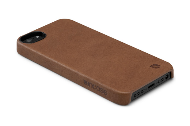 Image of Incase iPhone 5 Leather Snapcase