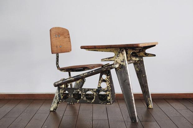 Image of Jean Prouvé Exhibition @ Jousse Entreprise