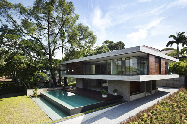 Image of JKC1 House by Ong &amp; Ong 