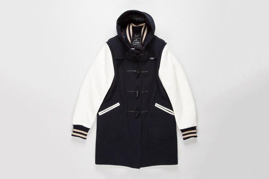 Image of Junya Watanabe MAN x Gloverall Baseball Duffel Jacket