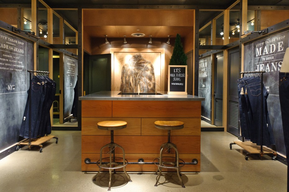 Image of Levi's Launches Its Made-to-Order Project in New York City