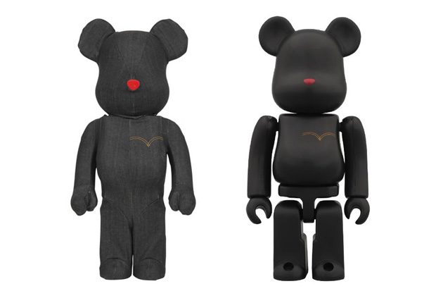Image of Levi's x Medicom Toy Black Denim Bearbrick