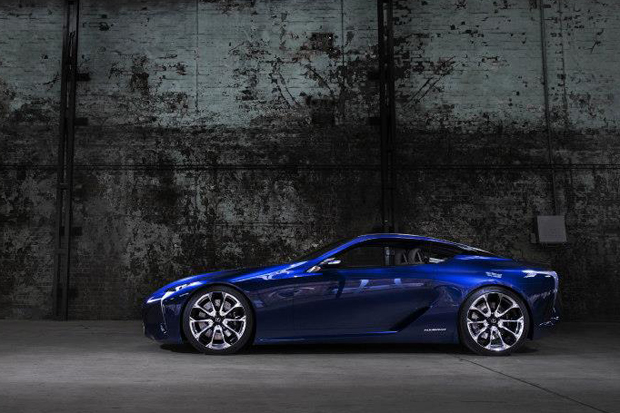 Image of Lexus LF-LC Blue
