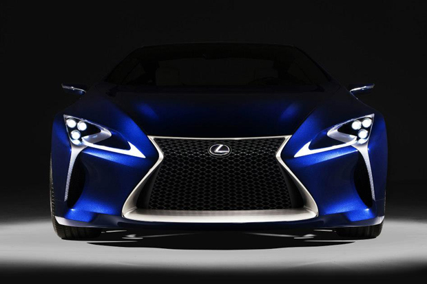 Image of Lexus LF-LC Blue