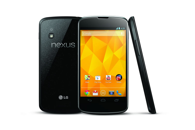 Image of LG and Google Announce the Nexus 4 Smartphone