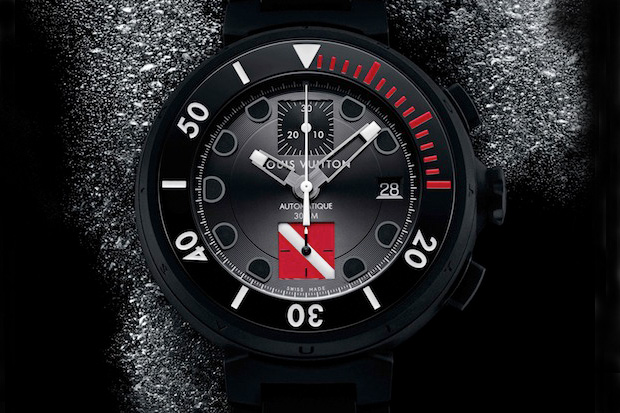 Image of Louis Vuitton Tambour Diving II Chronograph