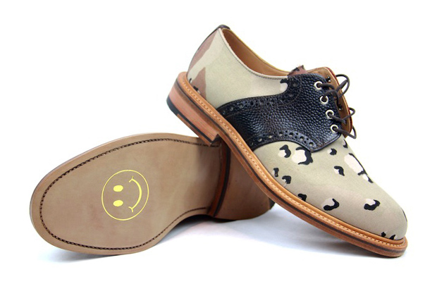 Image of Mark McNairy Desert Camo Saddle Shoe