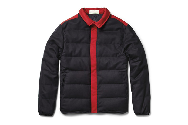 Image of Marni Wool-Blend Quilted Jacket