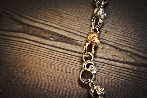 Image of mastermind JAPAN Skull Wallet Chain
