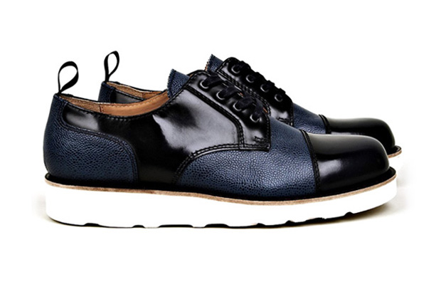 Image of Carven Leather-Mix Shoe