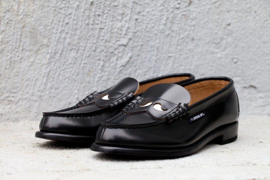 Image of Mr. Bathing Ape x Regal 2012 Fall/Winter Penny Loafers
