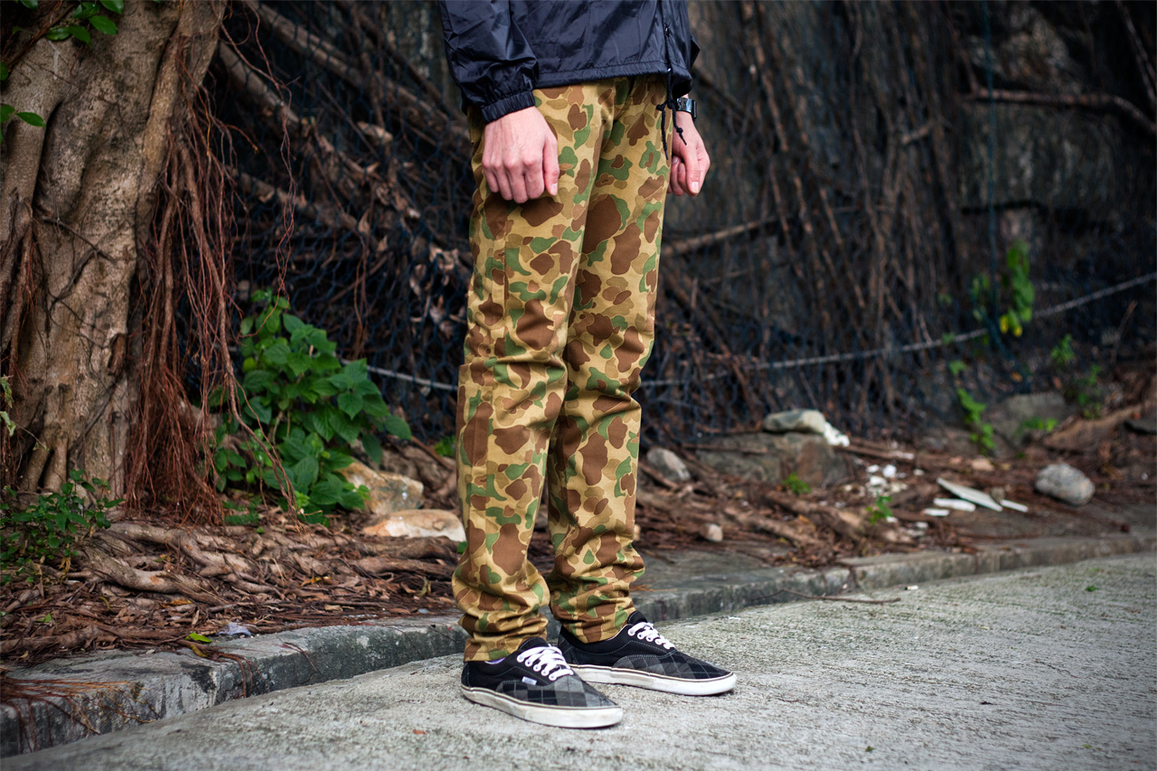 Image of Naked & Famous 2012 Fall Weird Guy Double Sided Camo