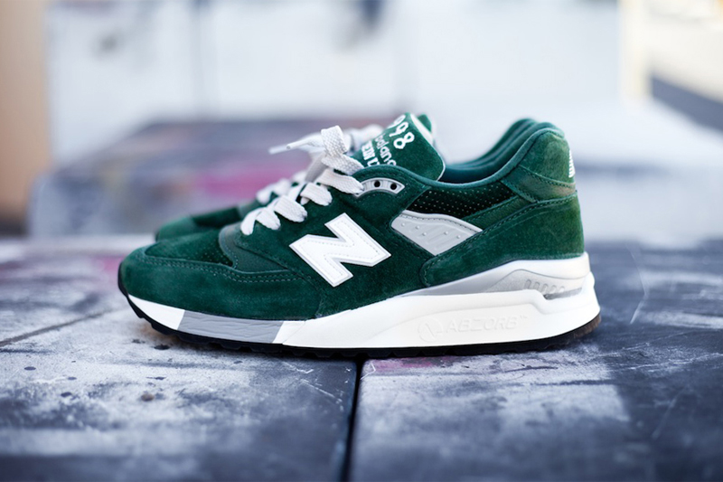"Image of New Balance M998BB ""Hunter Green"""