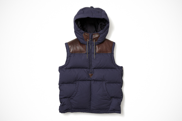 Image of NEXUSVII x Holden NEX-WCS LV-3 Hooded Down Vest