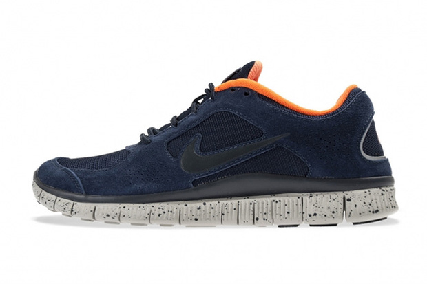 Image of Nike Free Run+ 3 Obsidian/Total Orange