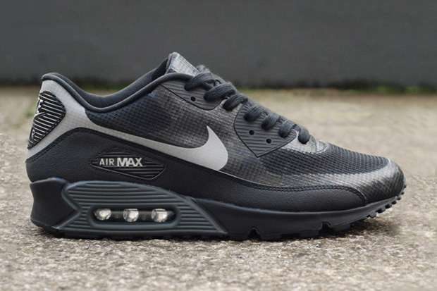 Image of Nike Air Max 90 Hyperfuse Black/Grey