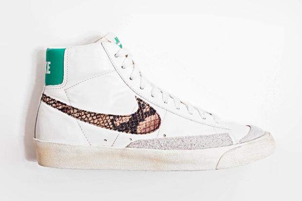 "Image of Nike Blazer Mid 77 Premium Vintage ""Snakeskin"""