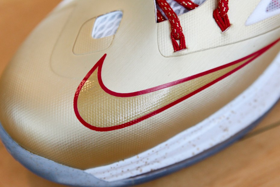 "Image of Nike LeBron X ""Championship Gold"""