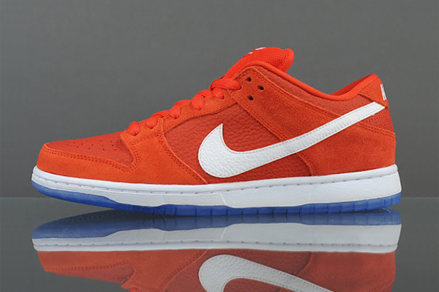 Image of Nike SB Dunk Low Pro Challenge Red/White