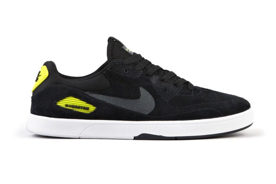 Image of Nike SB Koston X Heritage - Black/Atomic Green
