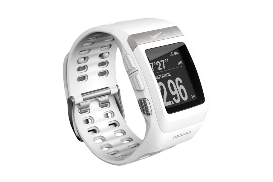 Image of Nike+ SportWatch GPS White/Silver Edition