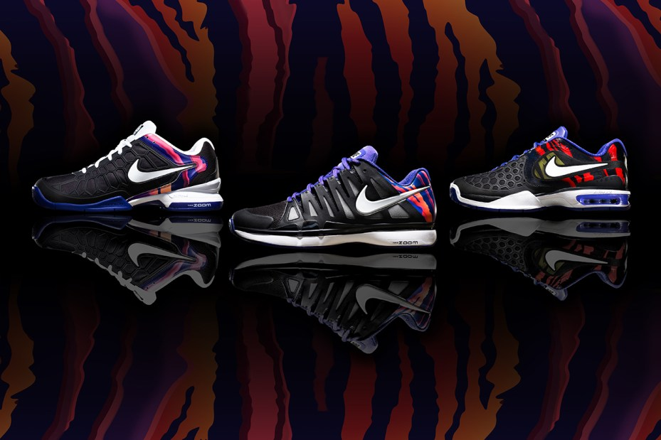 "Image of Nike Tennis ""Flame"" Collection"