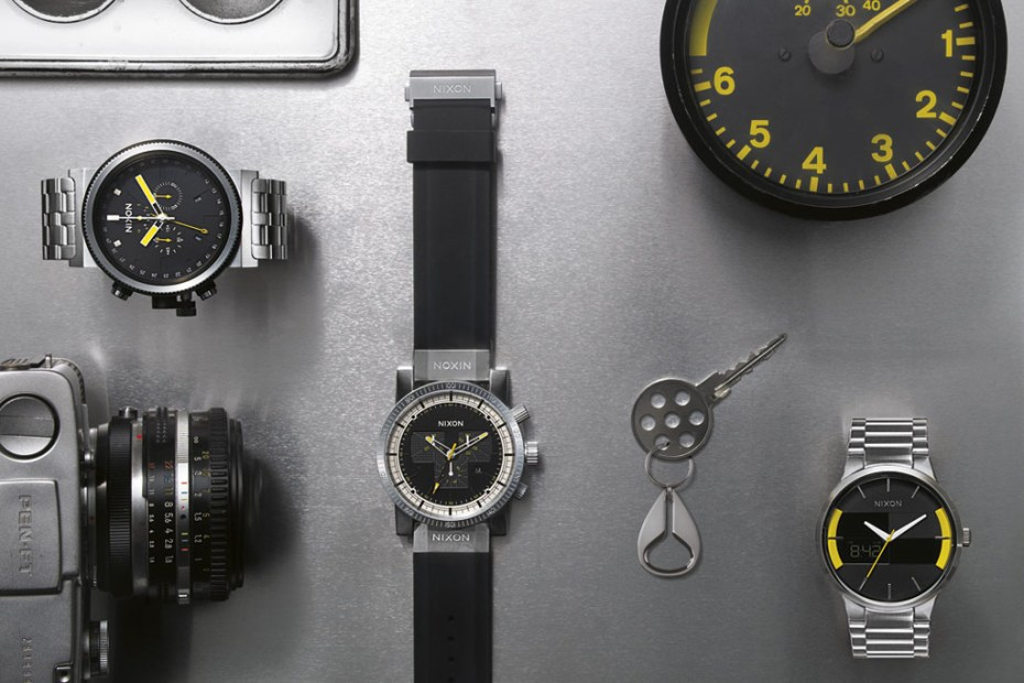 "Image of Nixon 2012 Fall/Winter ""The Grand Prix"" Watch Collection"
