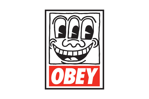 "Image of OBEY x Keith Haring ""THE MEDIUM IS THE MESSAGE"" Exhibition Japan"