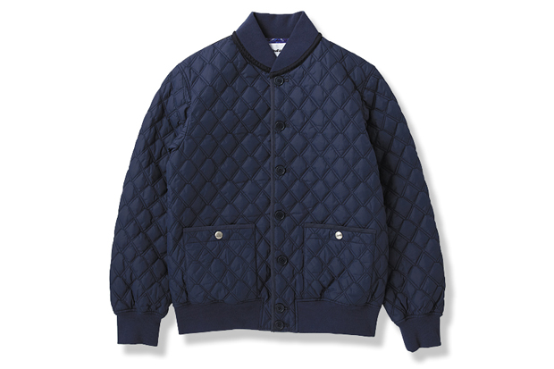 Image of OriginalFake 2012 Fall/Winter X QUILTING RIB JACKET