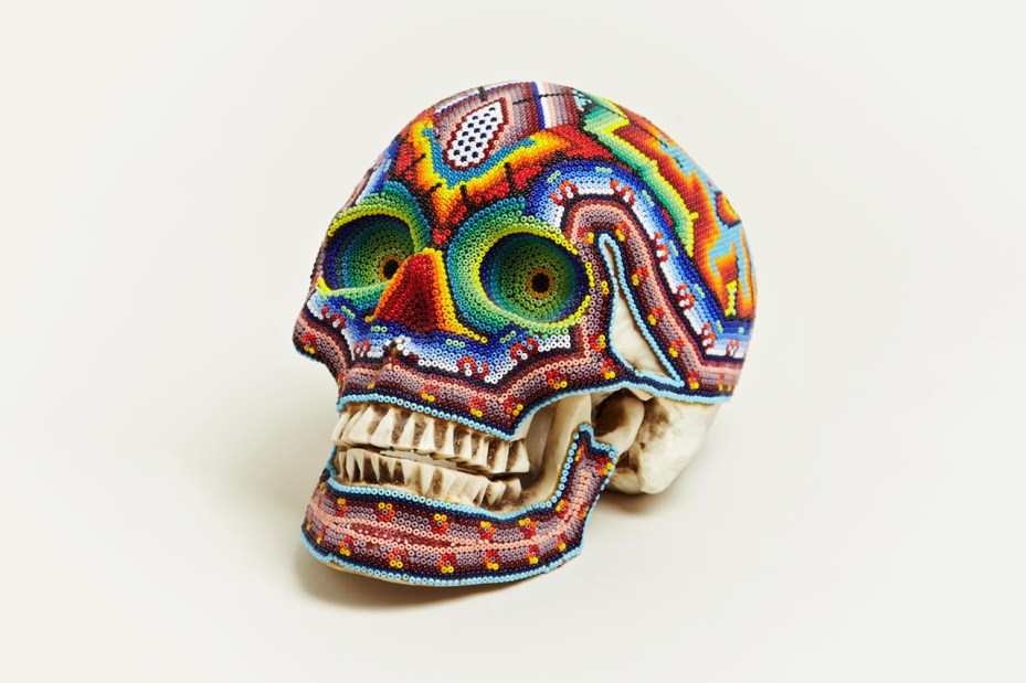 Image of Our Exquisite Corpse Large Beaded Skull
