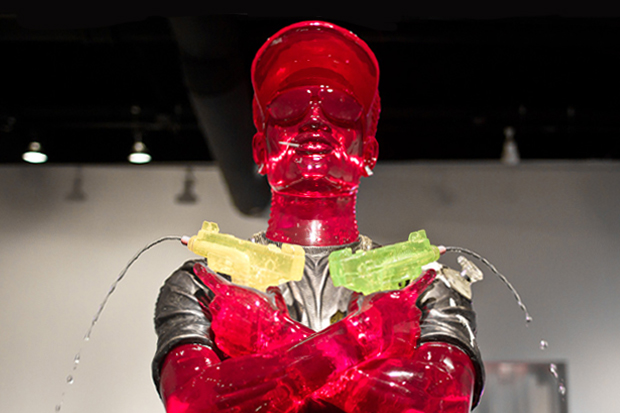 "Image of Patrick Martinez, Aaron De La Cruz and James Roper ""EVEN FLOW"" Exhibition @ Circuit 12 Contemporary Recap"