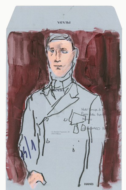 Image of Prada Fall/Winter 2012 Presented Through Illustrator Richard Haines: Il Palazzo